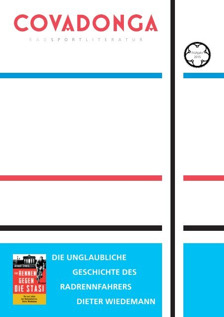 Covadonga Verlag - Programmvorschau Frühjahr 2015