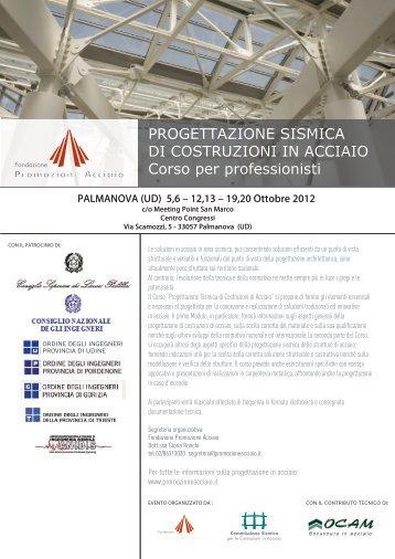 PROGETTAZIONE SISMICA DI COSTRUZIONI IN ACCIAIO ... - Anidis