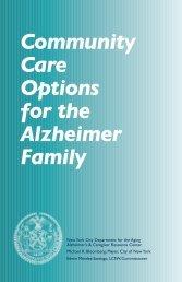 Community Care Options for the Alzheimer Family - National Asian ...