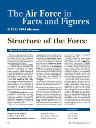 The Air Force in Figures Facts and - Air Force Magazine