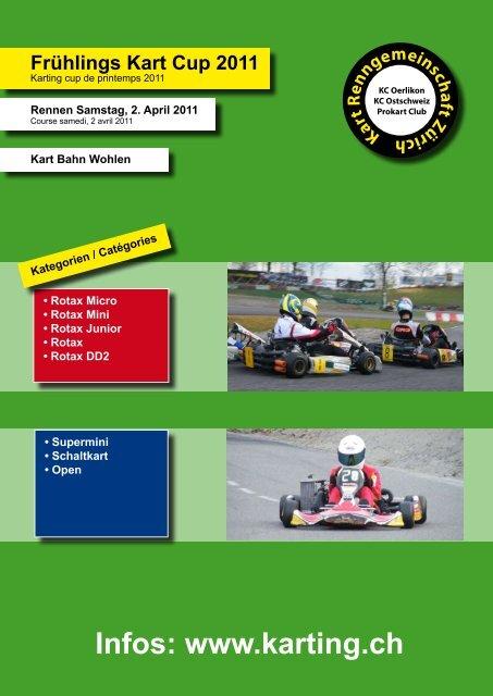 Ausschreibung - Karting.ch