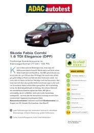 Skoda Fabia Combi 1.6 TDI Elegance (DPF)