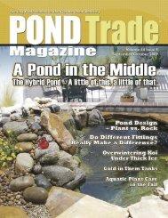 Download the September/October 2009 PDF - Pond Trade Magazine