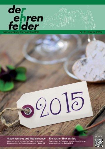 Der Ehrenfelder 61 - Januar 2015