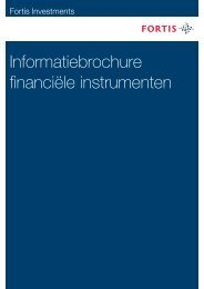 Informatiebrochure financiële instrumenten - Indices