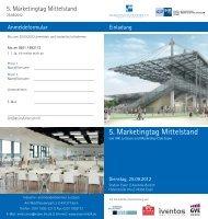 5. Marketingtag Mittelstand