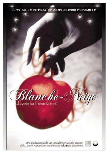 Dossier du spectacle Blanche-Neige - Festival Echappée Belle