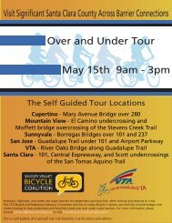 OUT 2010 Flyer - Silicon Valley Bicycle Coalition