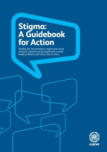 Stigma: A Guidebook for Action - European Commission - Europa