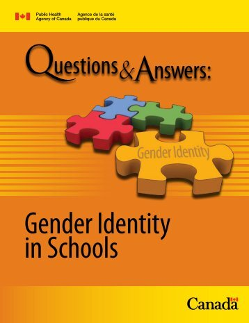 Gender Identity in Schools - the Canadian Federation for Sexual ...