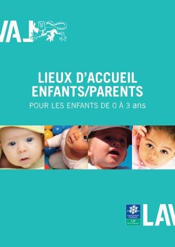 LIEUX D'ACCUEIL ENFANTS/PARENTS - Laval