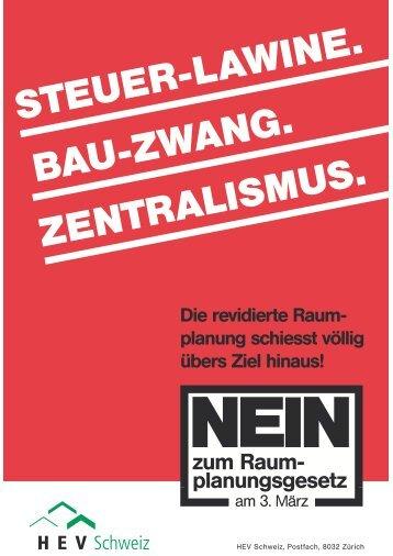NEIN - HEV Zürich