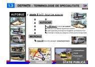 traseu statie publică autobuz definiții – terminologie de ... - URTP