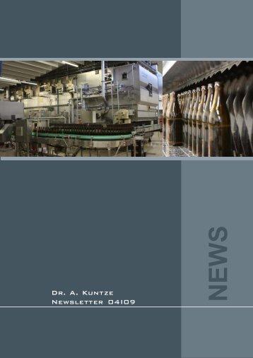 News 04/2009 - Dr. A. Kuntze GmbH
