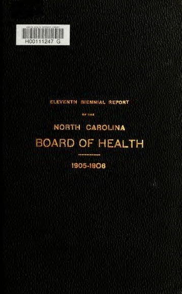 1905-1906 - University of North Carolina at Chapel Hill