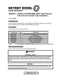 18sp680rev2 Epa04 Mbe 4000 Car Hauler Low Pressure Fuel