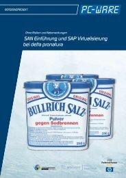 SAN Einführung und SAP Virtualisierung bei delta pronatura - B4B ...