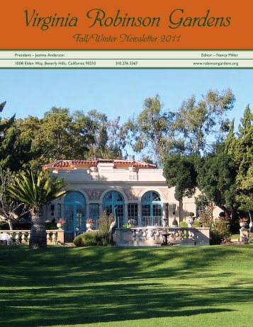 Download - Virginia Robinson Gardens