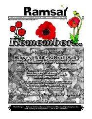 November 2005 - Ramsay Community Association