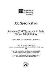 Job Description - Times Higher Education