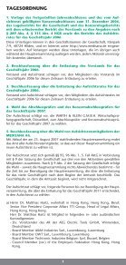 Einladung zur ordentlichen Hauptversammlung und ... - Medisana - Seite 2