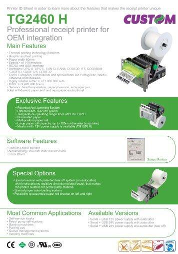 TG2460 H - E.W.L. Display & Printing Solutions GmbH