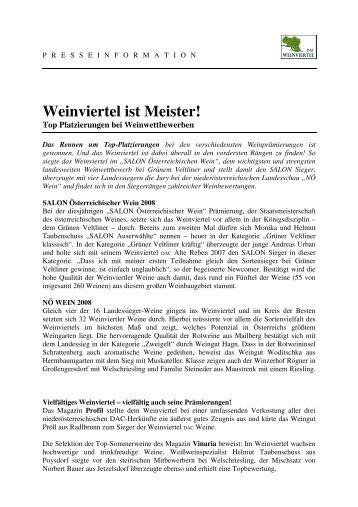 PT_Weinviertel_ist_Meister_080626_01 [PDF ... - Weinviertel DAC