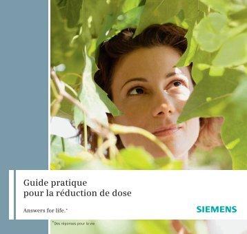 Guide pratique pour la réduction de dose - Siemens Healthcare