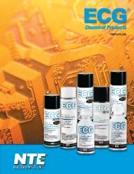 Chemical Products COMPLETE LINE - NTE Electronics