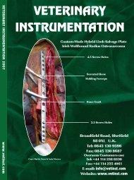 general orthopaedics - Veterinary Instrumentation
