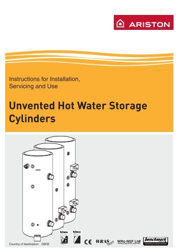 Unvented cylinder manual bhl ariston unvented installation guide advancedwater asfbconference2016 Choice Image