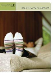 Sleep Disorders Institute - St. Jude Medical Center
