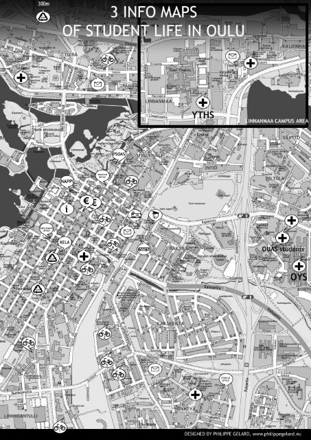 3 Info Maps Of Student Life In Oulu First Things Study In