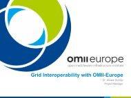 Grid Interoperability with OMII-Europe - Unicore