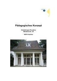Pädagogisches Konzept - Studentenwerk Aachen