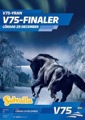 29 december - Solvalla