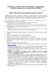 Filozofická fakulta Ostravské univerzity
