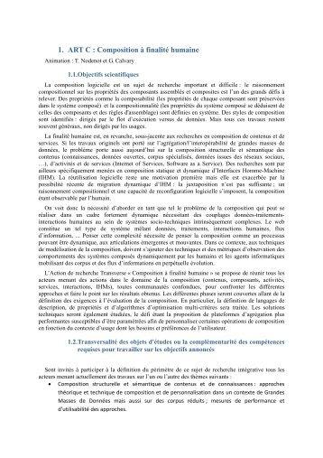 Composition à finalité humaine - IUT Bayonne - Université de Pau et ...