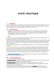 KYSTE HYDATIQUE