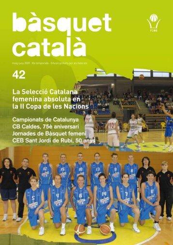 número 42 - Federació Catalana de Basquetbol