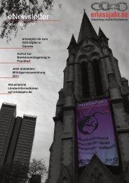erlassjahr.de eNewsletter 11/2011