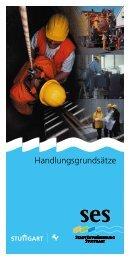 Handlungsgrundsätze - Stadtentwässerung Stuttgart