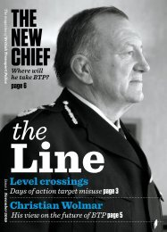 NEW - British Transport Police