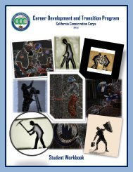 Career Development & Transition Module 4 - California ...