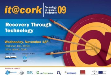 Download Conference Brochure - IT@Cork