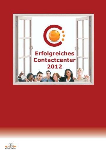 Erfolgreiches Contactcenter 2012 - Absatzwirtschaft-biznet
