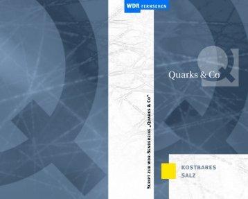 Quarks & Co - Steckbrief Salz