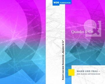 Quarks & Co - Mann und Frau – der kleine Unterschied