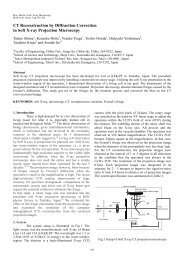 CT Reconstruction by Diffraction Correction in Soft X-ray Projection ...