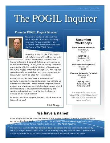 Pogil Magazines